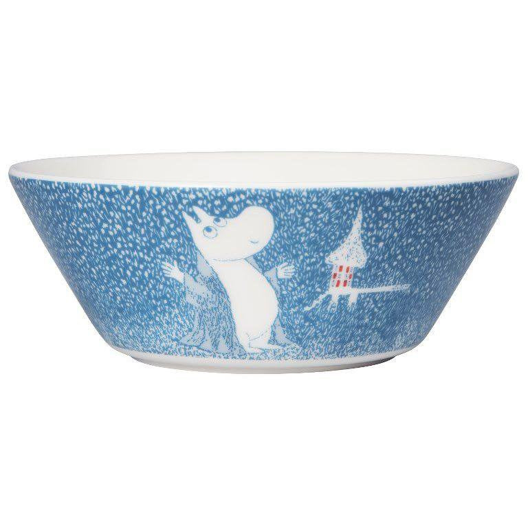 Moomin winter bowl 2018 – Light Snowfall - The Official Moomin Shop