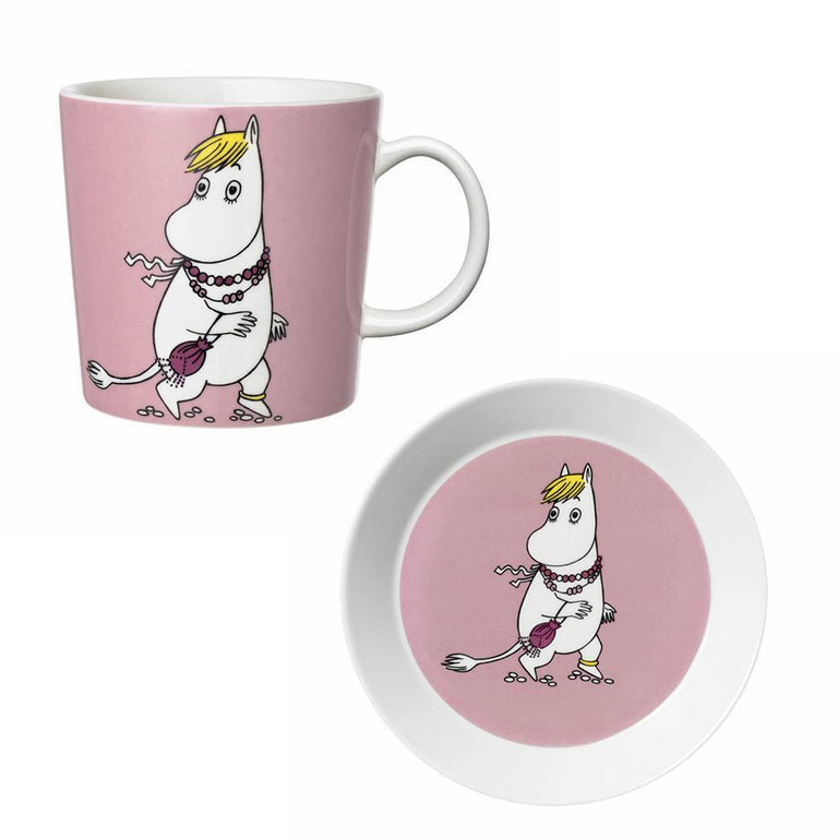 Snorkmaiden Mug and Plate gift set by Arabia - The Official Moomin Shop
