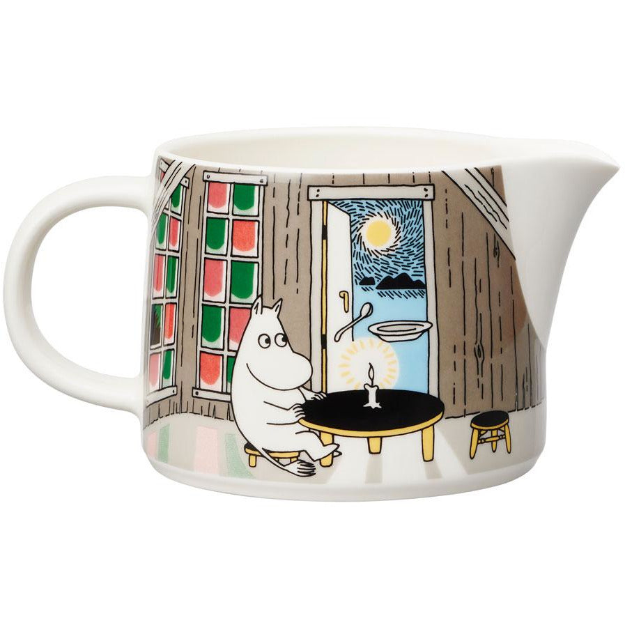 "Moomin ""Moment of twilight"" Pitcher 0.35 l - Arabia - The Official Moomin Shop"