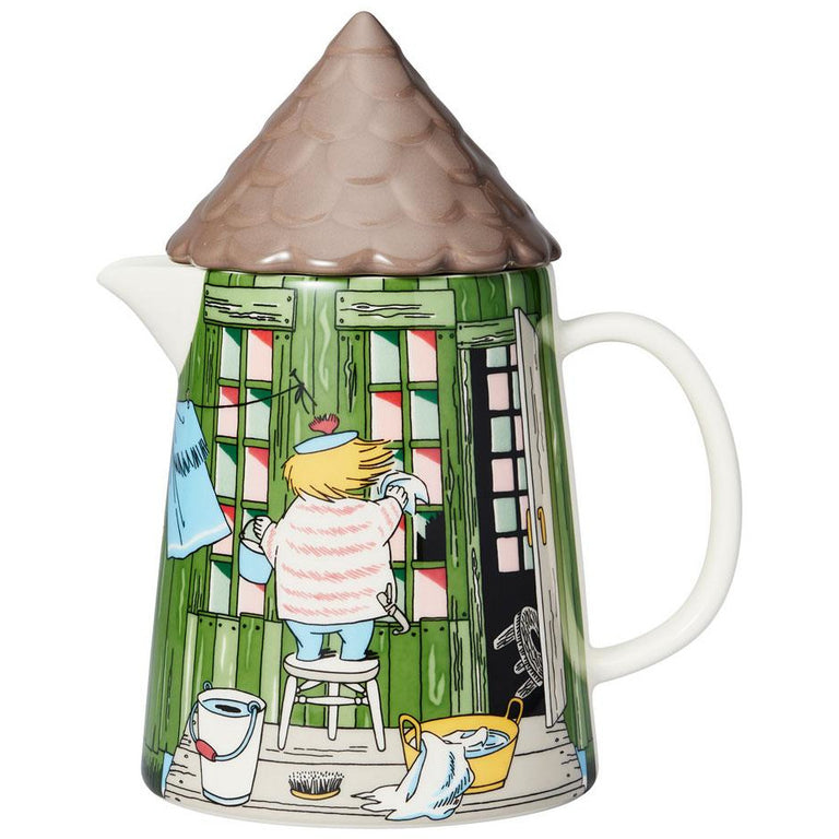 "Moomin ""Bath House"" Pitcher 1 l - Arabia - The Official Moomin Shop"