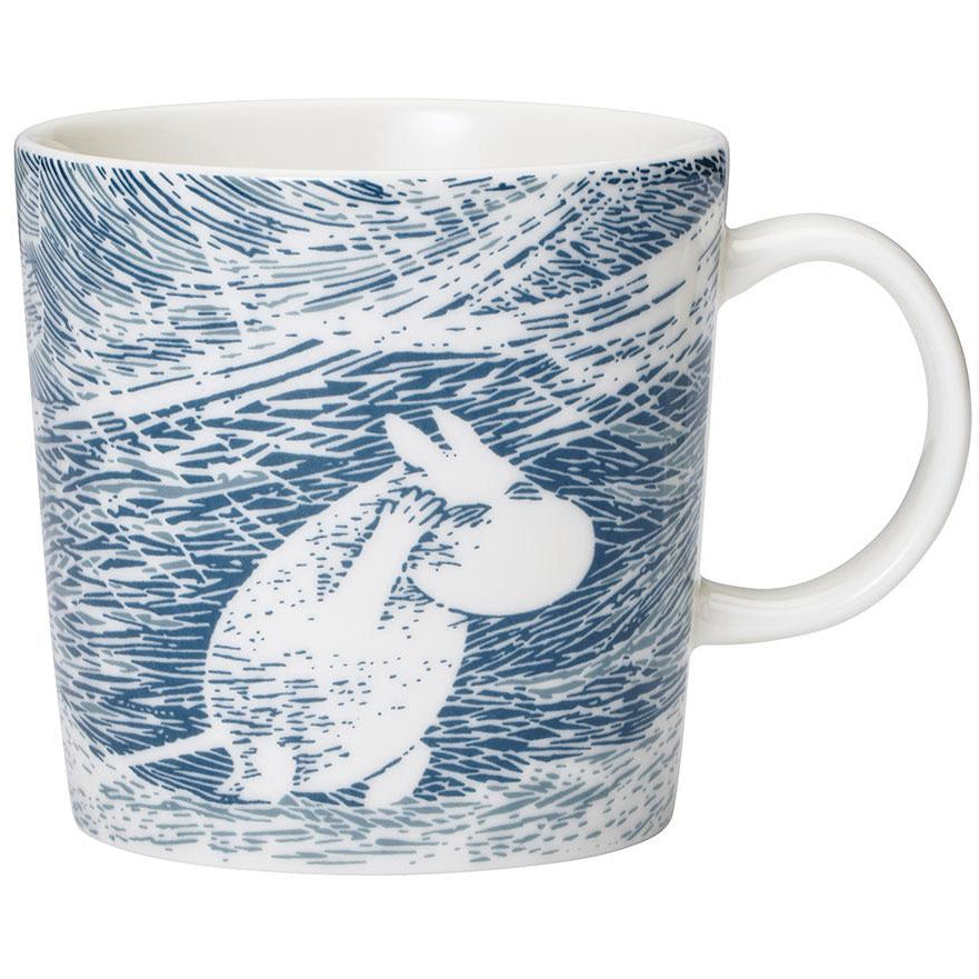 "Moomin ""Snow Blizzard"" Winter Mug 2020 - Arabia - The Official Moomin Shop"
