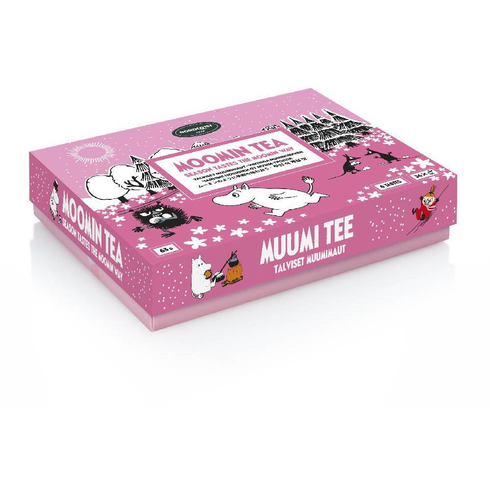 "Moomin ""Season tastes"" Bagged Tea - Nordqvist - The Official Moomin Shop"