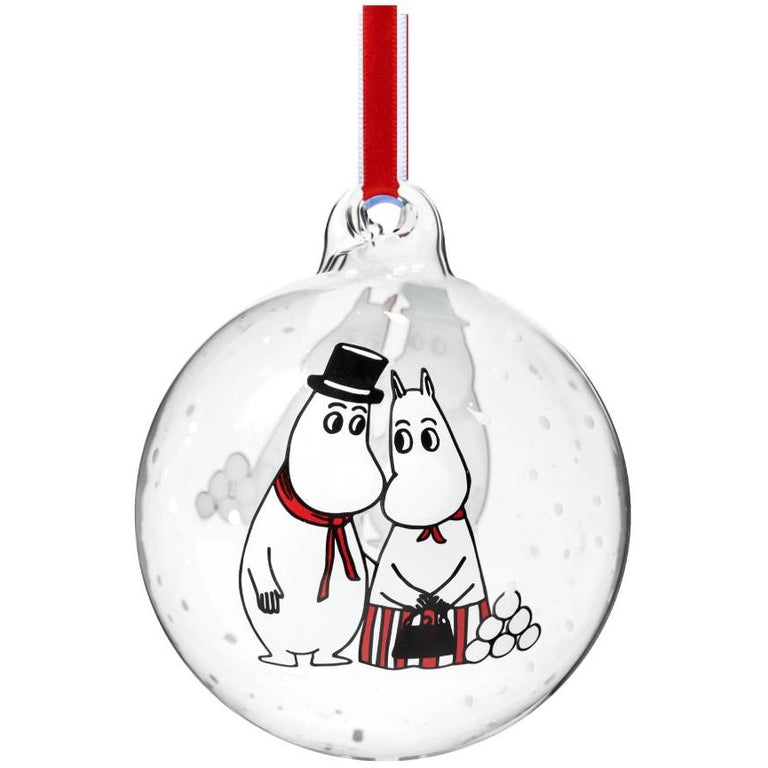 Moominmamma & Moominpappa Decoration Ball - Muurla - The Official Moomin Shop