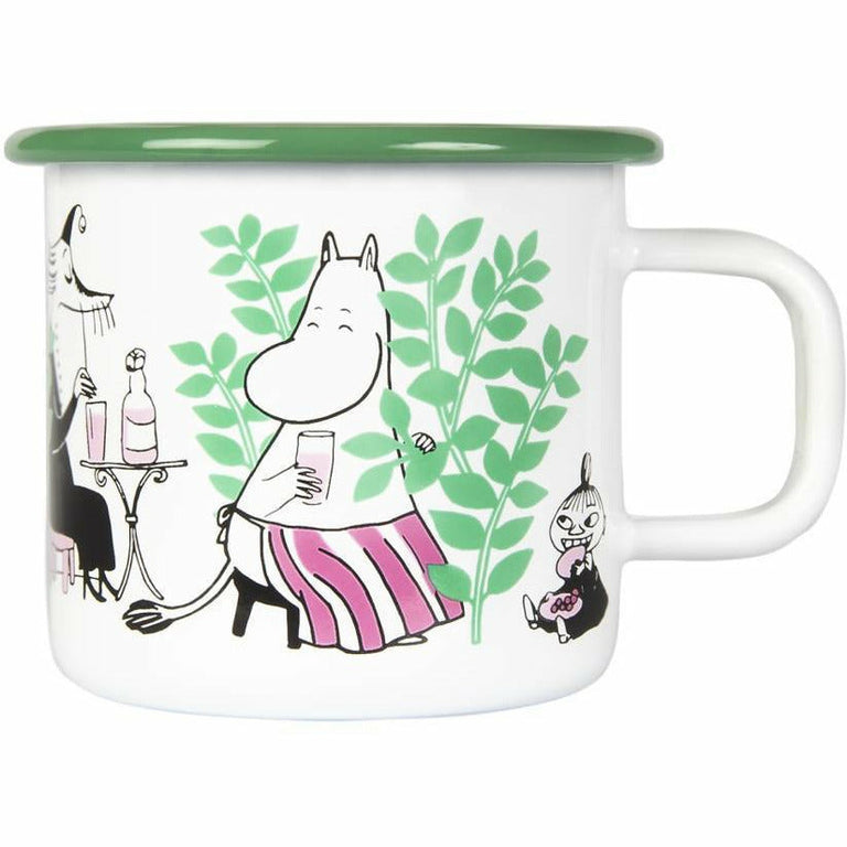 "Moomin ""Day in the garden"" Mug 3,7 dl - Muurla - The Official Moomin Shop"