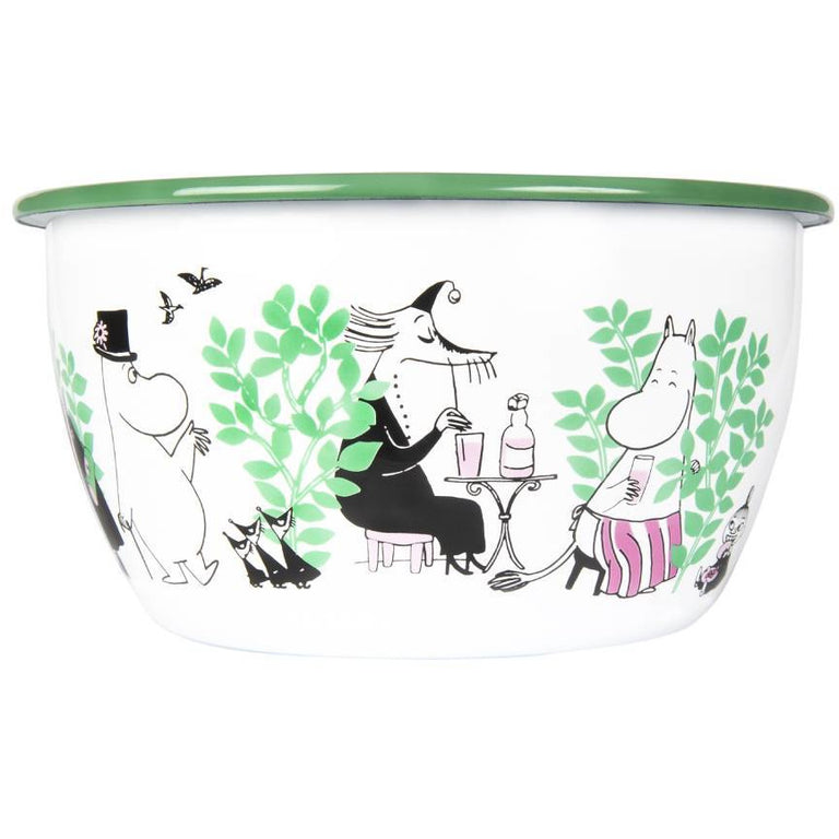 Moomin Day in the garden Bowl 2 l - Muurla - The Official Moomin Shop