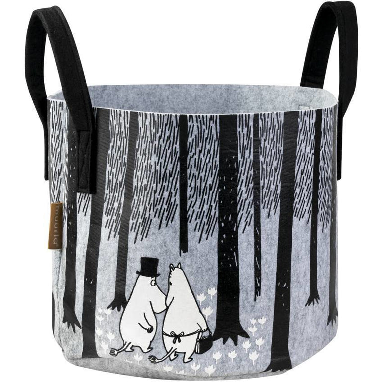 "Moomin ""In the woods"" Storage Basket - Muurla - The Official Moomin Shop"