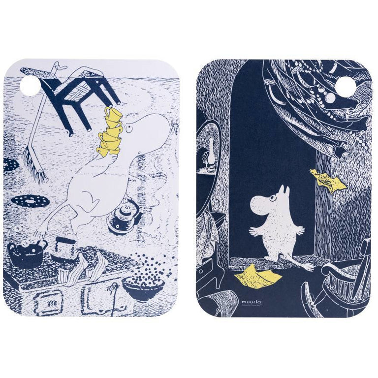 "Moomin ""The Unfamiliar Home"" Cutting Board - Muurla - The Official Moomin Shop"