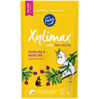 Xylimax Moomin xylitol chewing gum by Fazer