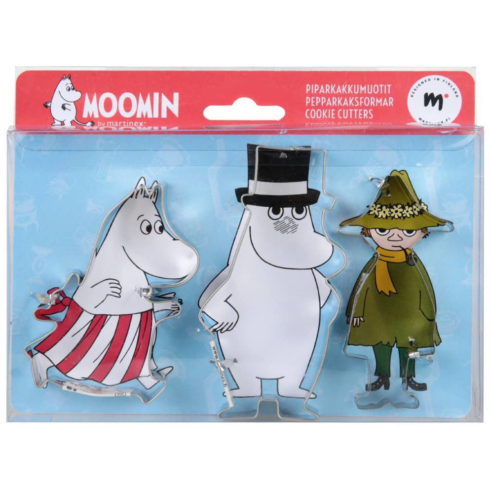 Moomin Cookie cutters II - Martinex - The Official Moomin Shop