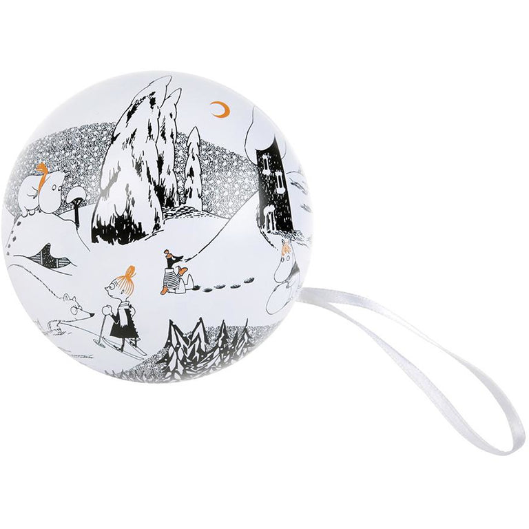 "Moominvalley ""Winter"" Decoration Ball - Martinex - The Official Moomin Shop"