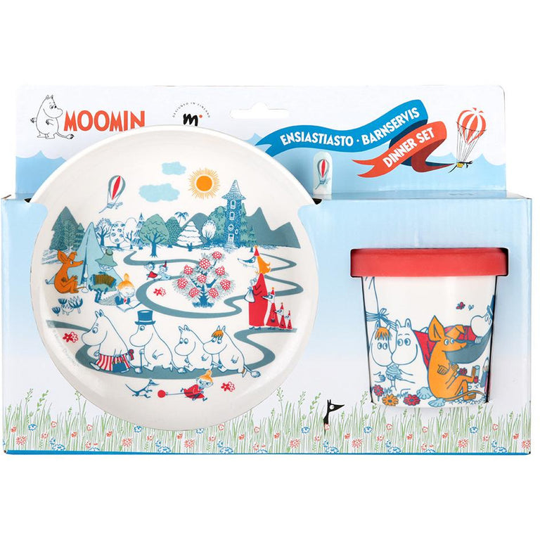 Moominvalley Kids' Dinner Set by Martinex - The Official Moomin Shop