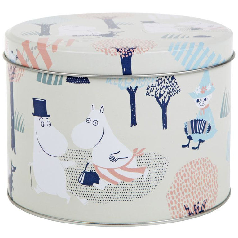 Moomin Forest round jar - The Official Moomin Shop