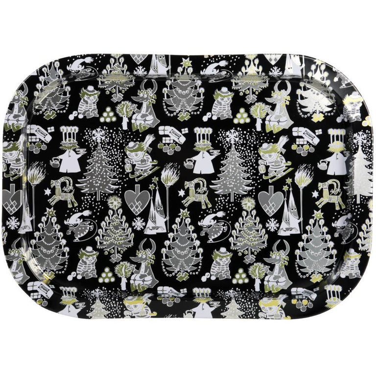 Moomin Too-Ticky's Christmas Tin Tray - Martinex - The Official Moomin Shop