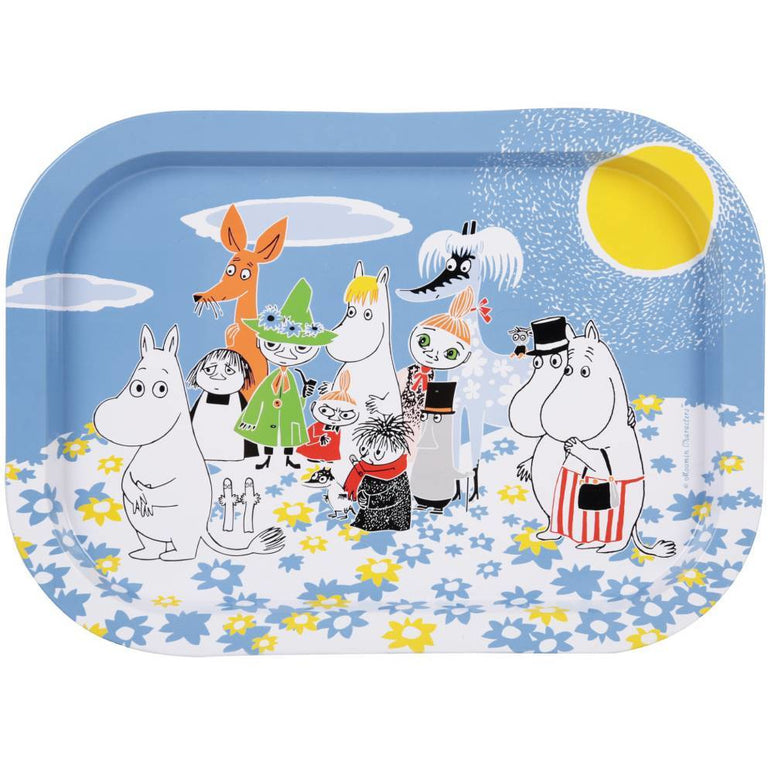 "Moomin ""Summer Day"" Tray - Martinex - The Official Moomin Shop"