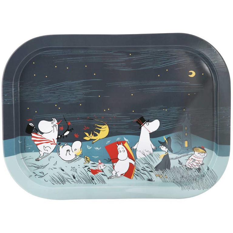 "Moomin ""Storm"" Tray - Martinex - The Official Moomin Shop"
