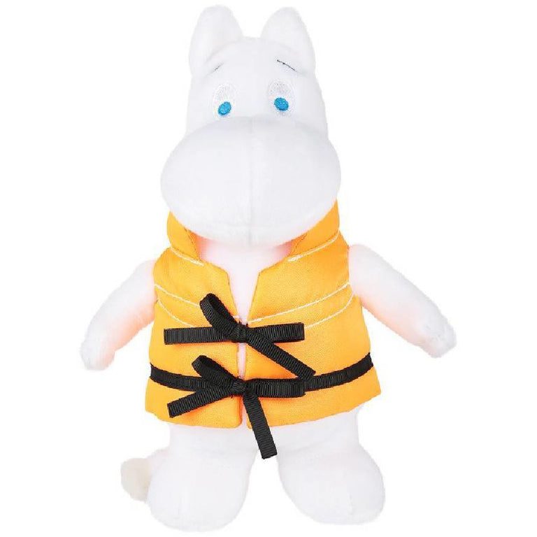 #OURSEA Moomintroll 20 cm Plush Toy - Martinex - The Official Moomin Shop