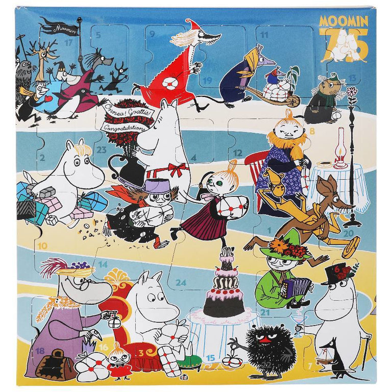 Moomin Christmas Calendar 2020 - Martinex - The Official Moomin Shop