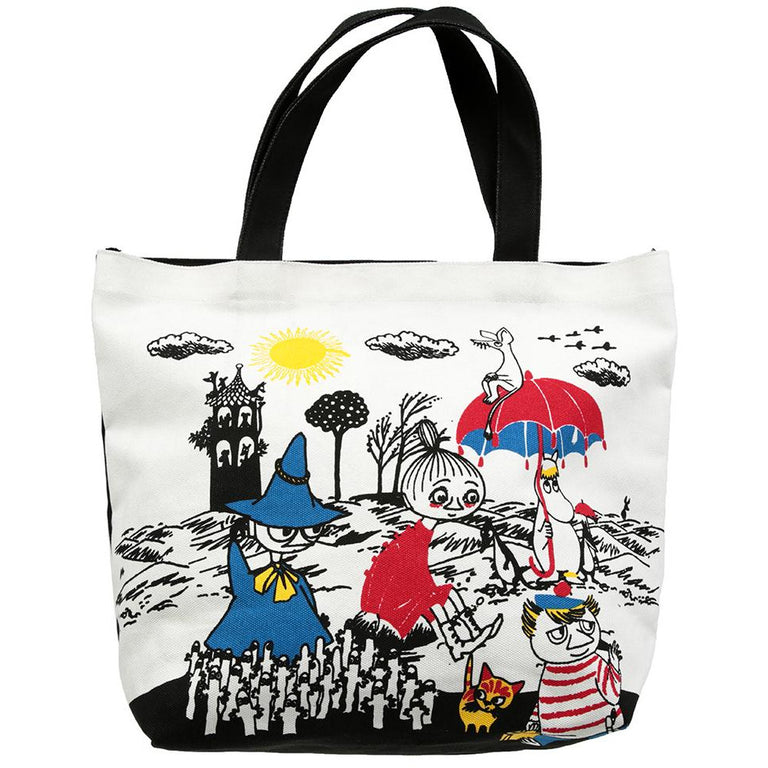 Moomin shopping bag white by Martinex - The Official Moomin Shop