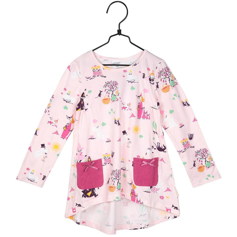Moomin Autumn moment rose tunic by Martinex - The Official Moomin Shop