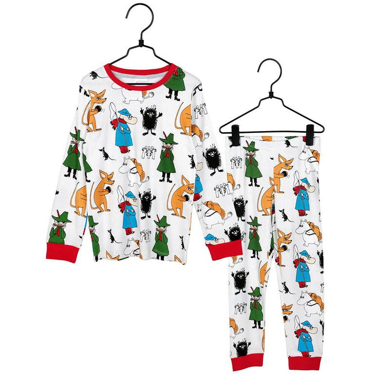 Moomin Keeping Busy pyjamas for children by Martinex - The Official Moomin Shop
