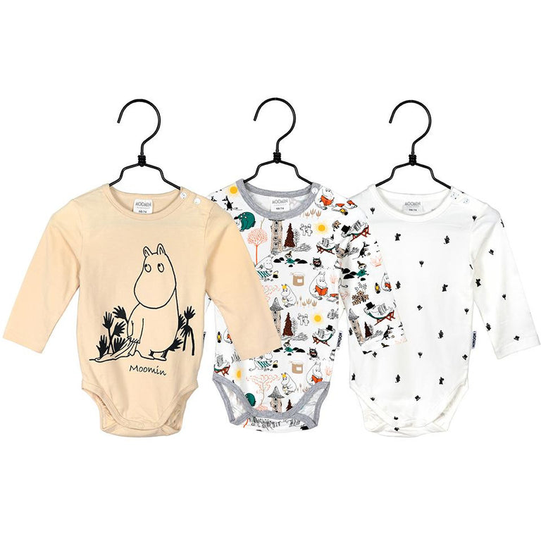 Moomin bodysuit 3-pack by Martinex - The Official Moomin Shop