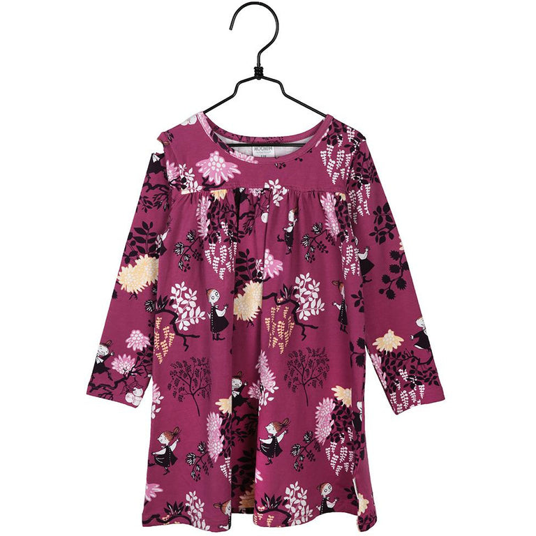 Moomin Mymble plum tunic by Martinex - The Official Moomin Shop