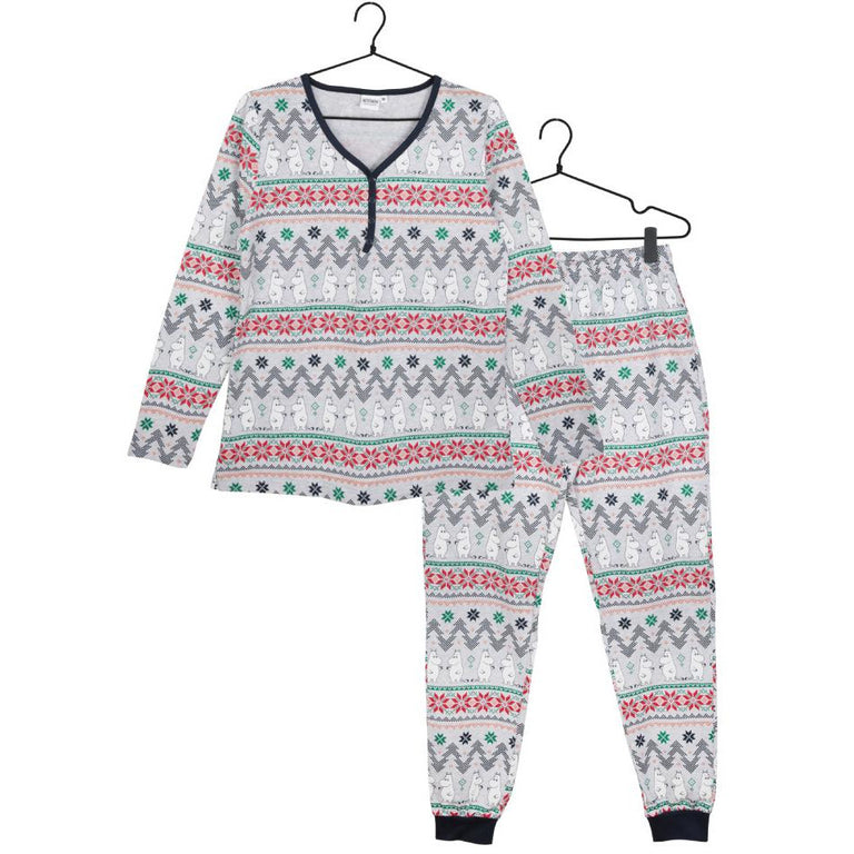 Moominmamma Noel two-piece Pyjama - Martinex - The Official Moomin Shop