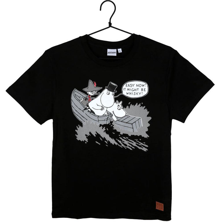Moominpappa and Whisky t-shirt by Martinex - The Official Moomin Shop