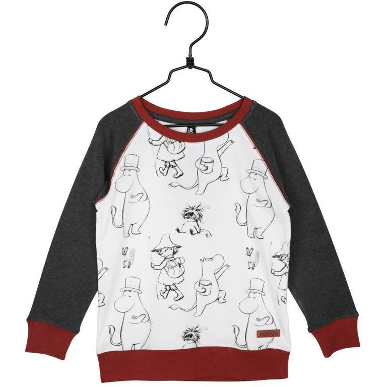 Moomin Pen Stroke Sweatshirt - Martinex - The Official Moomin Shop