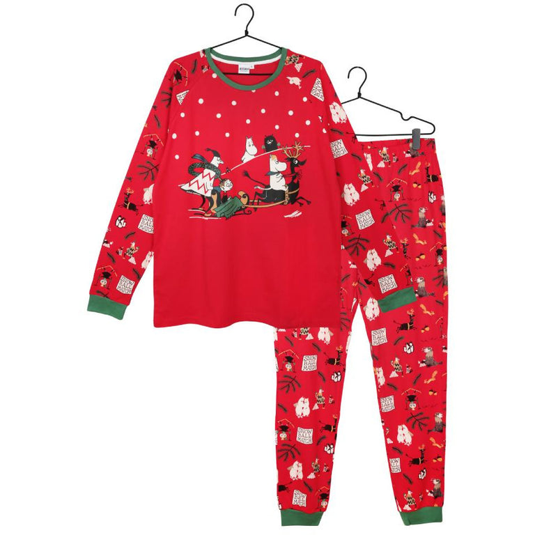 Moominpappa Snowball Match two-piece Pyjama - Martinex - The Official Moomin Shop