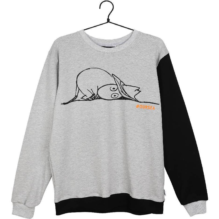 #OURSEA Moomin Sweatshirt gray - Martinex - The Official Moomin Shop