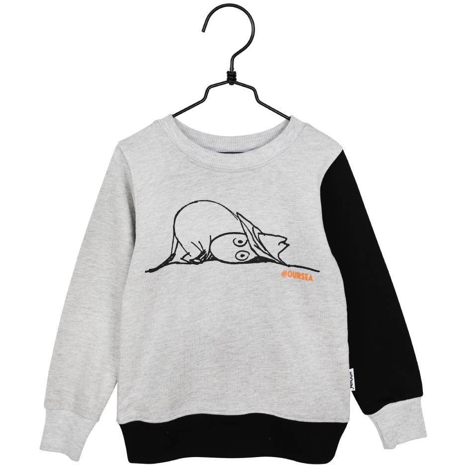 #OURSEA Moomin Sweatshirt gray for children - Martinex - The Official Moomin Shop