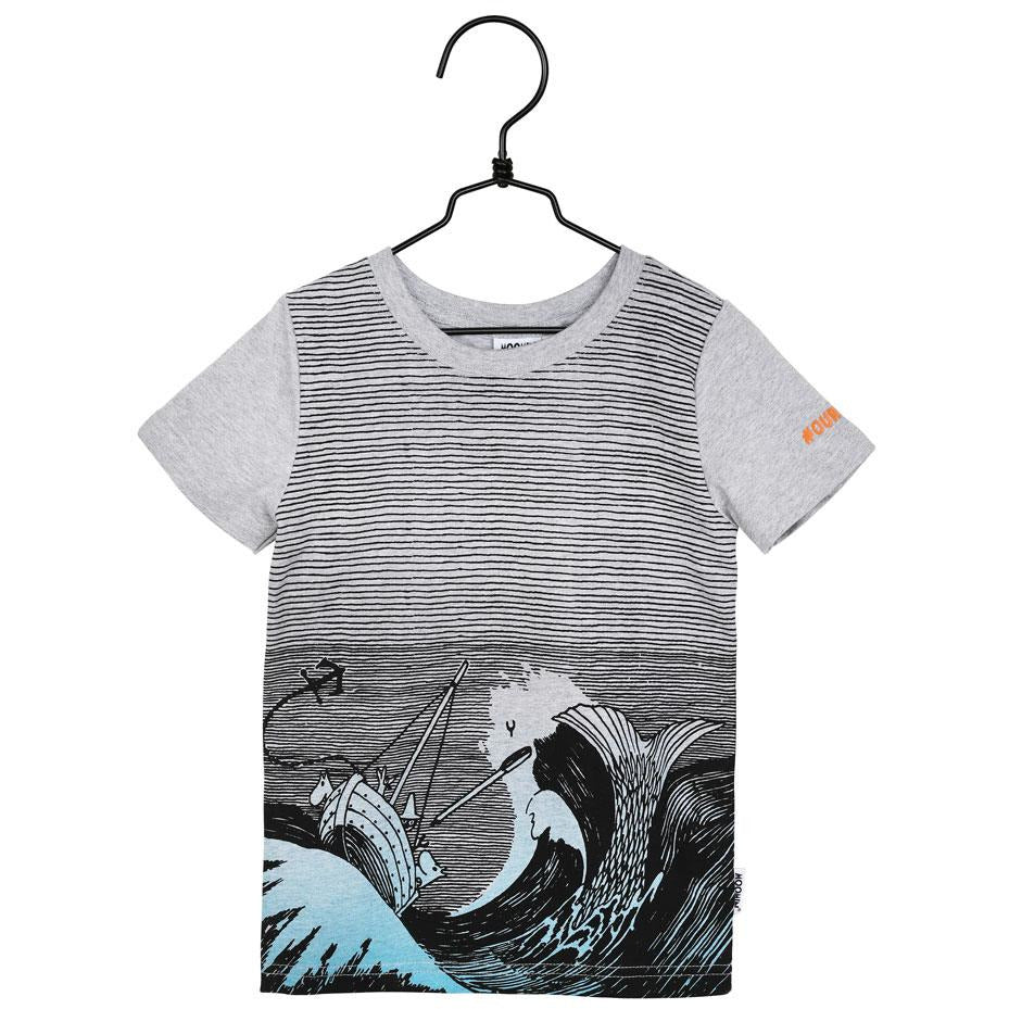 #OURSEA Moomin T-shirt gray for children - Martinex - The Official Moomin Shop