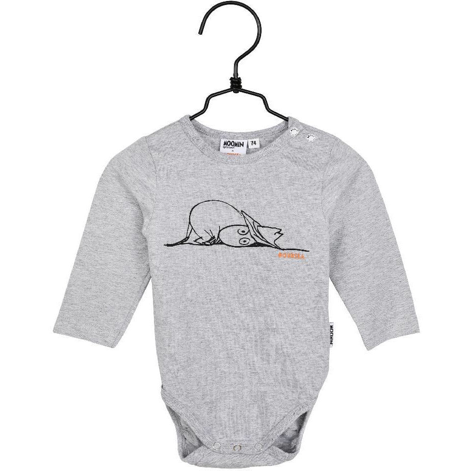 #OURSEA Moomin Bodysuit gray - Martinex - The Official Moomin Shop
