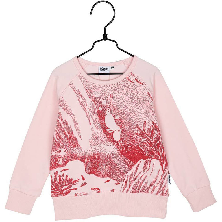 #OURSEA Moomin Sweatshirt rose for children - Martinex - The Official Moomin Shop