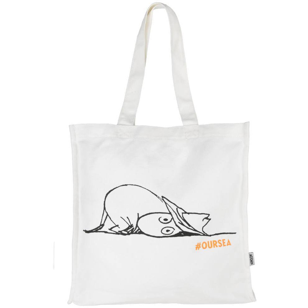 #OURSEA Moomin Eco-bag off-white - Martinex - The Official Moomin Shop