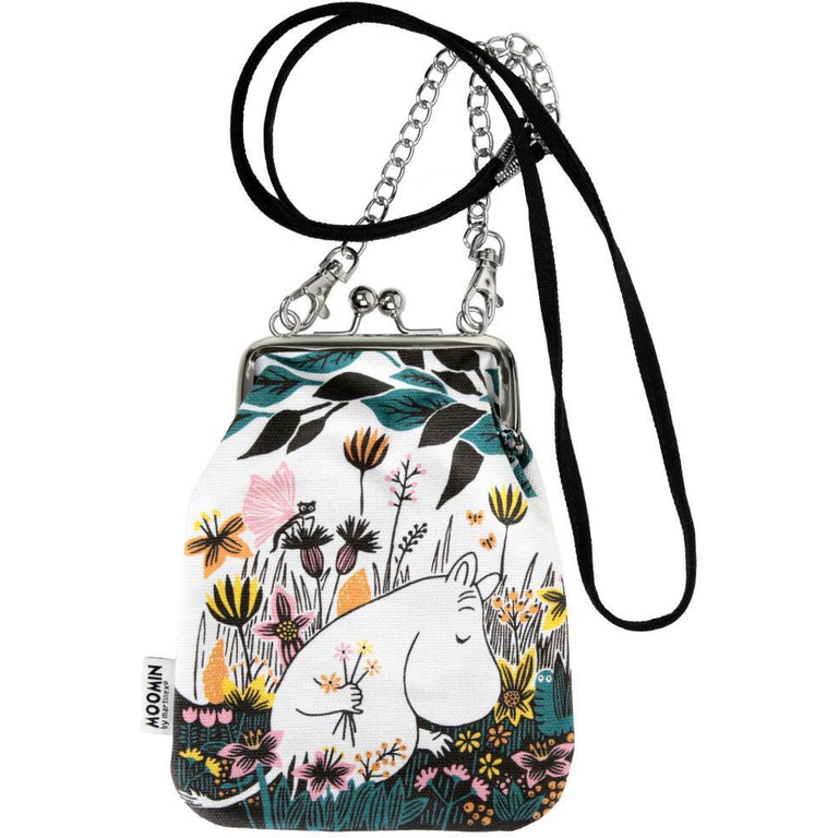 "Moomin Shoulder Pouch ""On the Field"" in colors - Martinex - The Official Moomin Shop"