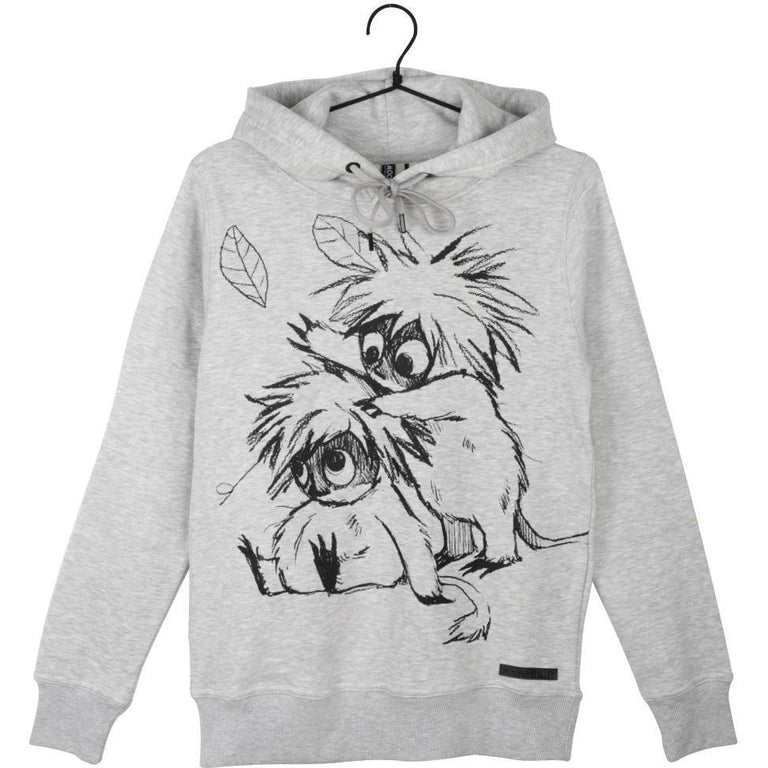 Moomin Sweatshirt Woodies Sketch grey - Martinex - The Official Moomin Shop