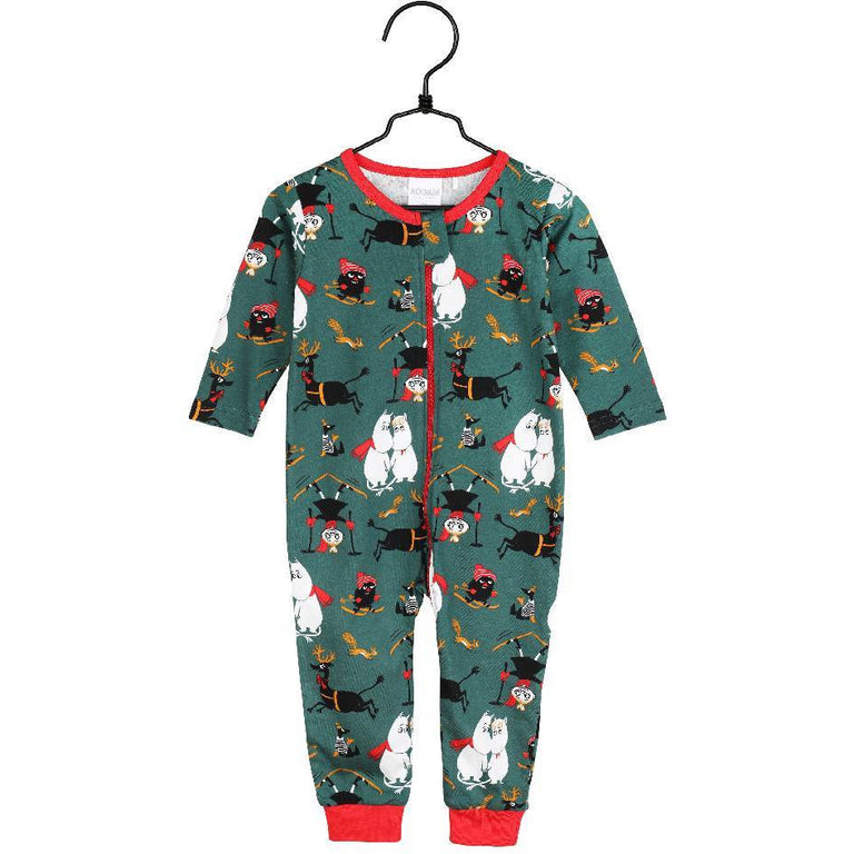 "Moomin ""Winter follies"" Pyjama for babies - Martinex - The Official Moomin Shop"
