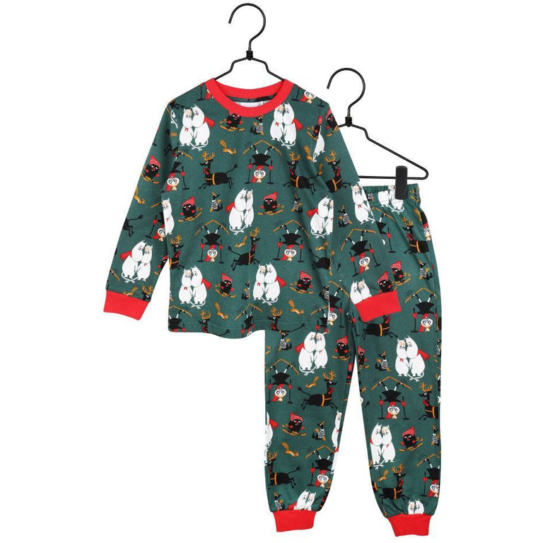 "Moomin ""Winter follies"" Pyjama for children - Martinex - The Official Moomin Shop"