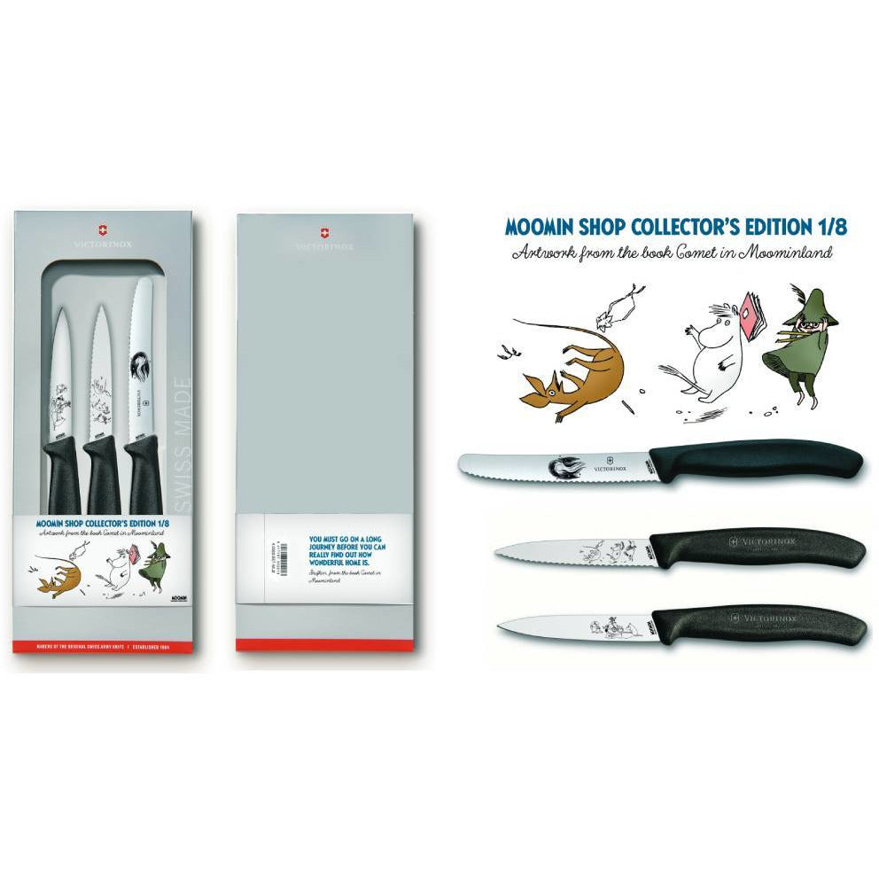 "Moomin ""Comet in Moominland"" Knife Set - Victorinox - The Official Moomin Shop"