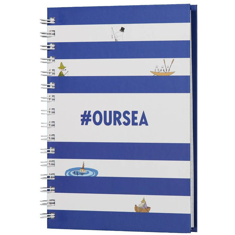 #OURSEA Moomin Notebook - Anglo Nordic - The Official Moomin Shop