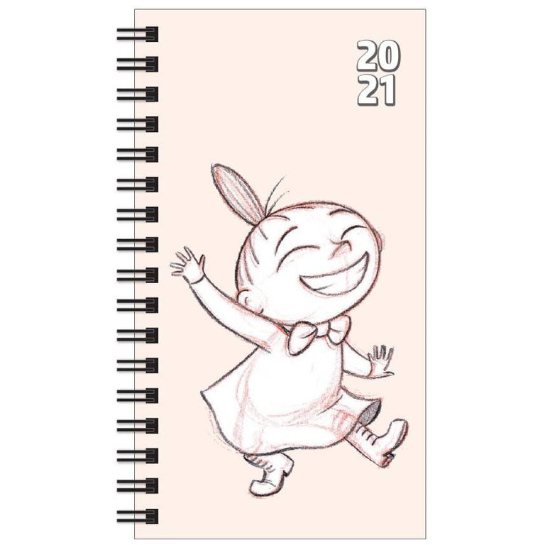 Little My Pocket Calendar 2020-2021 - Anglo-Nordic - The Official Moomin Shop