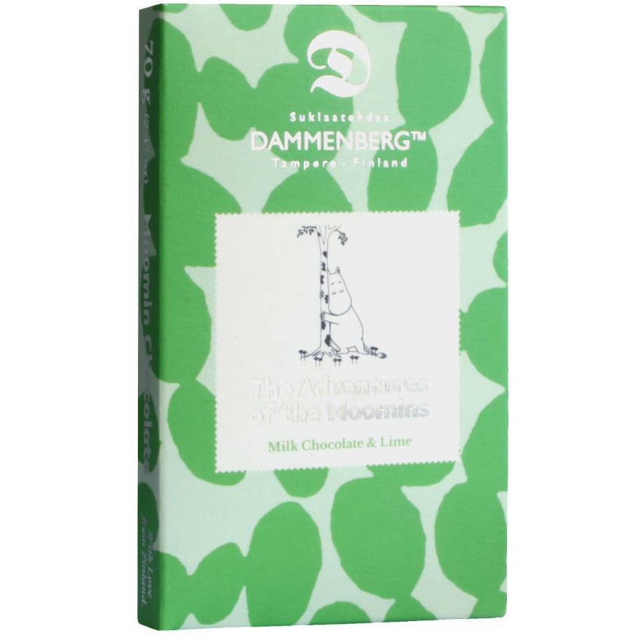 Moomin Lime Milk Chocolate - Dammenberg - The Official Moomin Shop