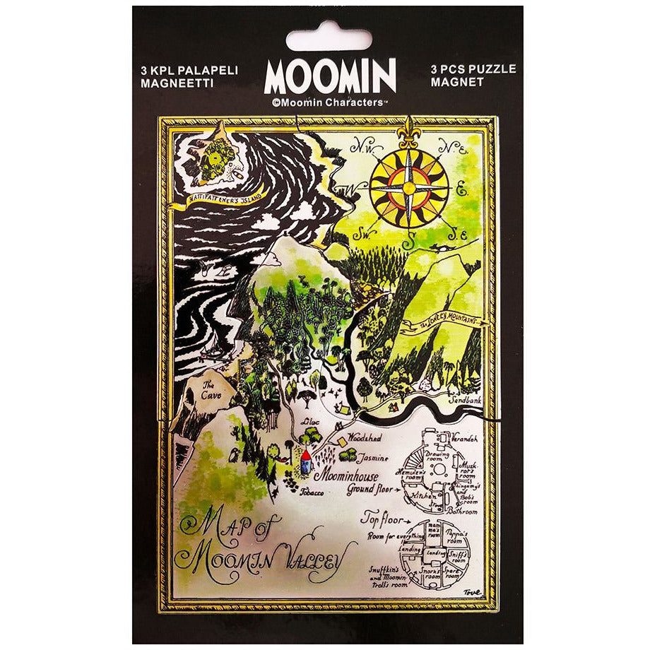 Moominvalley puzzle Magnet - TMF-Trade - The Official Moomin Shop