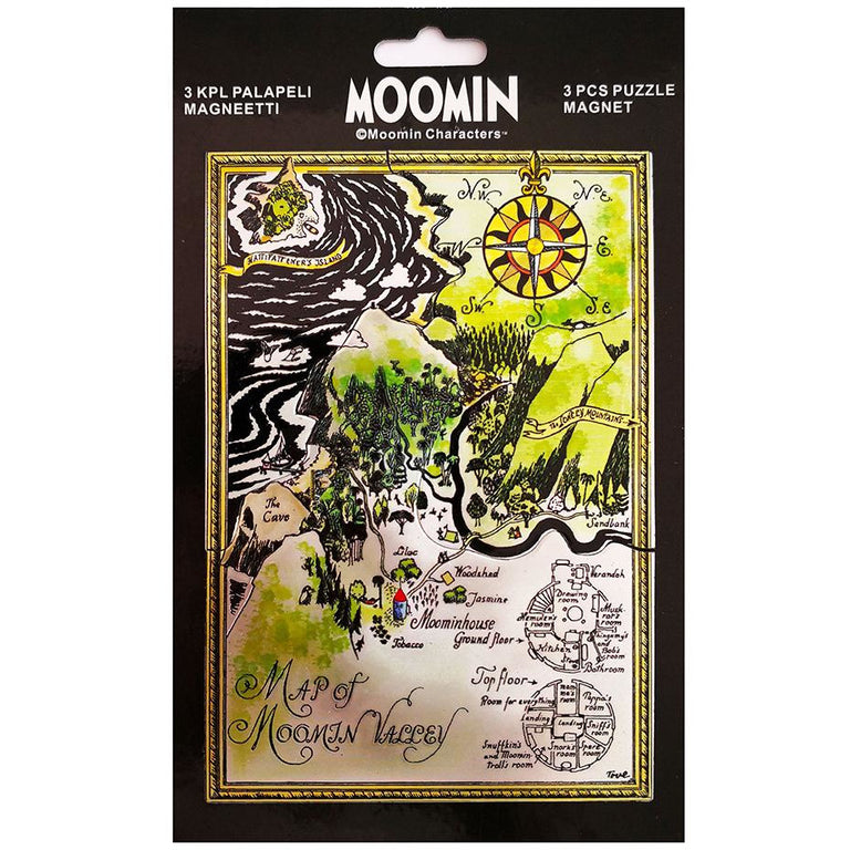 Moominvalley puzzle magnet by TMF-Trade - The Official Moomin Shop