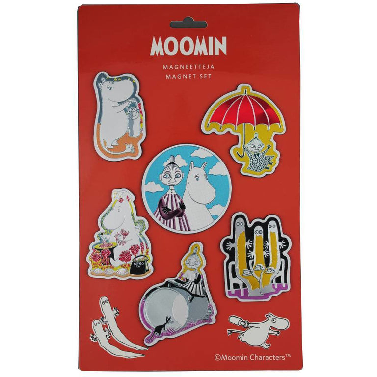 Moomin Magnets 6-pack - TMF-Trade - The Official Moomin Shop