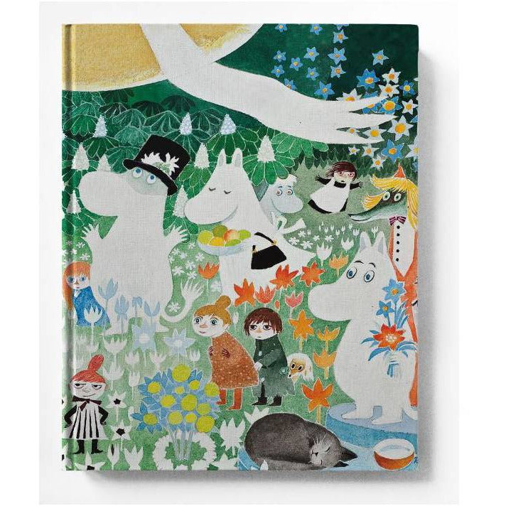 "Moomin ""Dangerous Journey"" Hard cover Notebook - Putinki - The Official Moomin Shop"