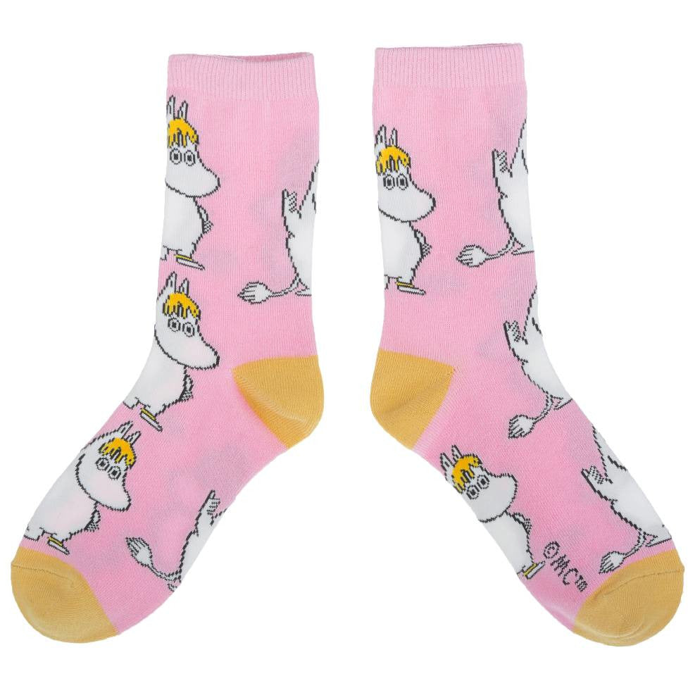 Snorkmaiden Socks pink - Nordicbuddies - The Official Moomin Shop