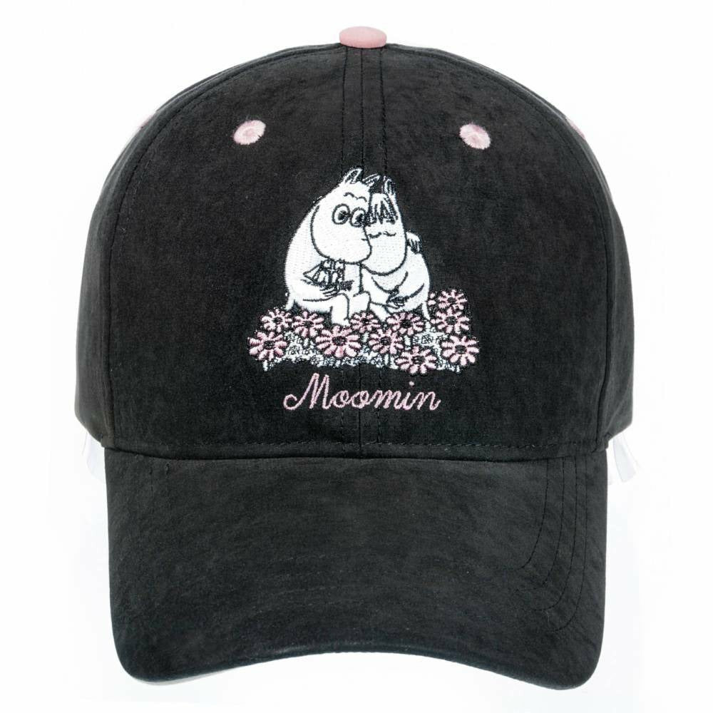 "Moomin ""Love"" Cap black - Nordicbuddies - The Official Moomin Shop"